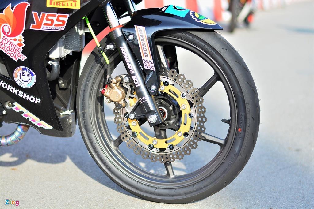 Yamaha Exciter 150 thay đổi ra sao để biến thành xe đua? Ảnh 2