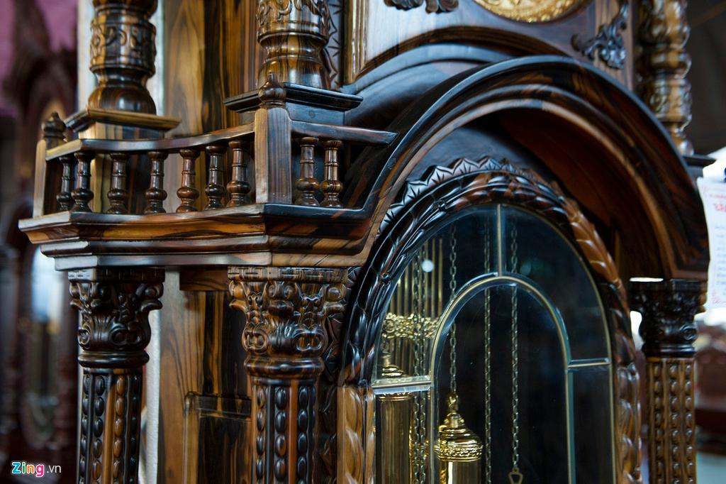 Những chiếc đồng hồ gỗ từ Đức giá hàng trăm triệu đồng Ảnh 6