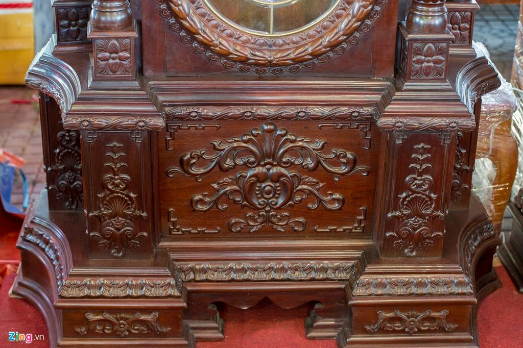 Những chiếc đồng hồ gỗ từ Đức giá hàng trăm triệu đồng Ảnh 11