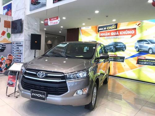 Toyota Innova 2019 giảm giá 80 triệu đồng trong tháng 12 Ảnh 1