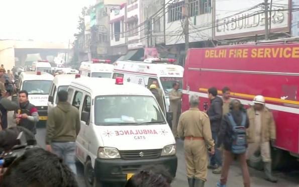 Cháy tòa nhà 4 tầng ở Ấn Độ, 43 người chết Ảnh 1