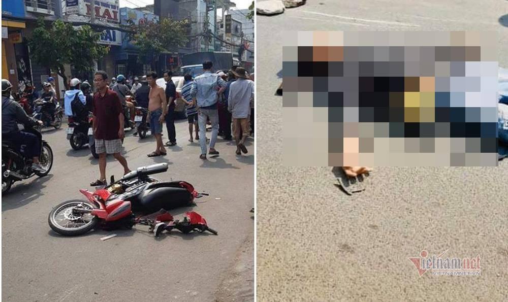 Nghi vấn giật dây chuyền rồi ngã xe máy chết sau tai nạn ở Sài Gòn Ảnh 1