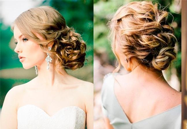Loạt kiểu tóc siêu xinh cho cô dâu trong ngày cưới Ảnh 2