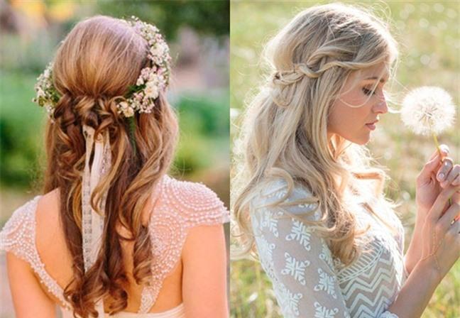 Loạt kiểu tóc siêu xinh cho cô dâu trong ngày cưới Ảnh 11