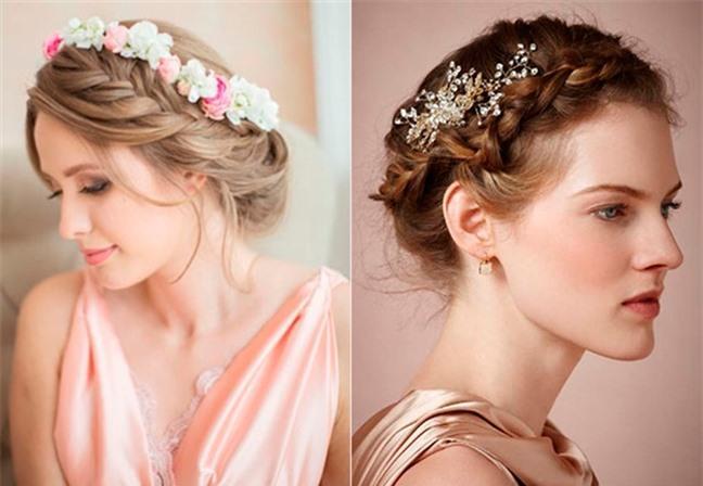 Loạt kiểu tóc siêu xinh cho cô dâu trong ngày cưới Ảnh 5