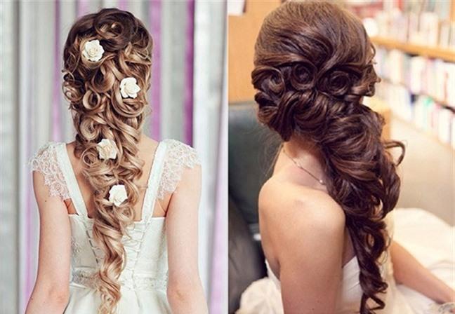 Loạt kiểu tóc siêu xinh cho cô dâu trong ngày cưới Ảnh 8