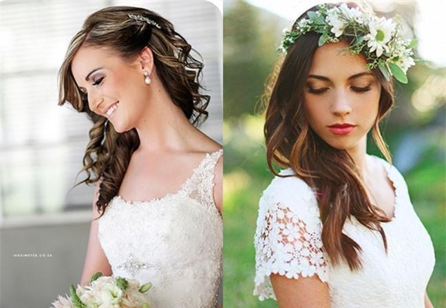 Loạt kiểu tóc siêu xinh cho cô dâu trong ngày cưới Ảnh 3