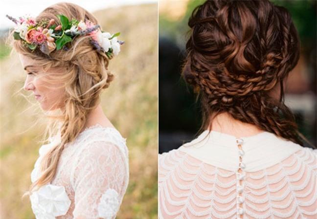 Loạt kiểu tóc siêu xinh cho cô dâu trong ngày cưới Ảnh 10