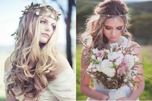 Loạt kiểu tóc siêu xinh cho cô dâu trong ngày cưới Ảnh 1