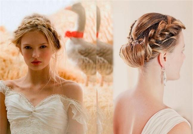 Loạt kiểu tóc siêu xinh cho cô dâu trong ngày cưới Ảnh 7