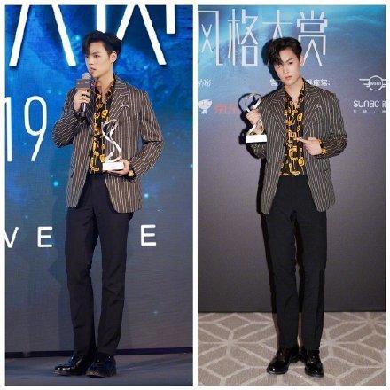 Thảm đỏ 2019 Sina Style Awards: Hứa Ngụy Châu gây chú ý với vest gợi cảm, Nghê Ni quyến rũ với tông vàng Ảnh 28