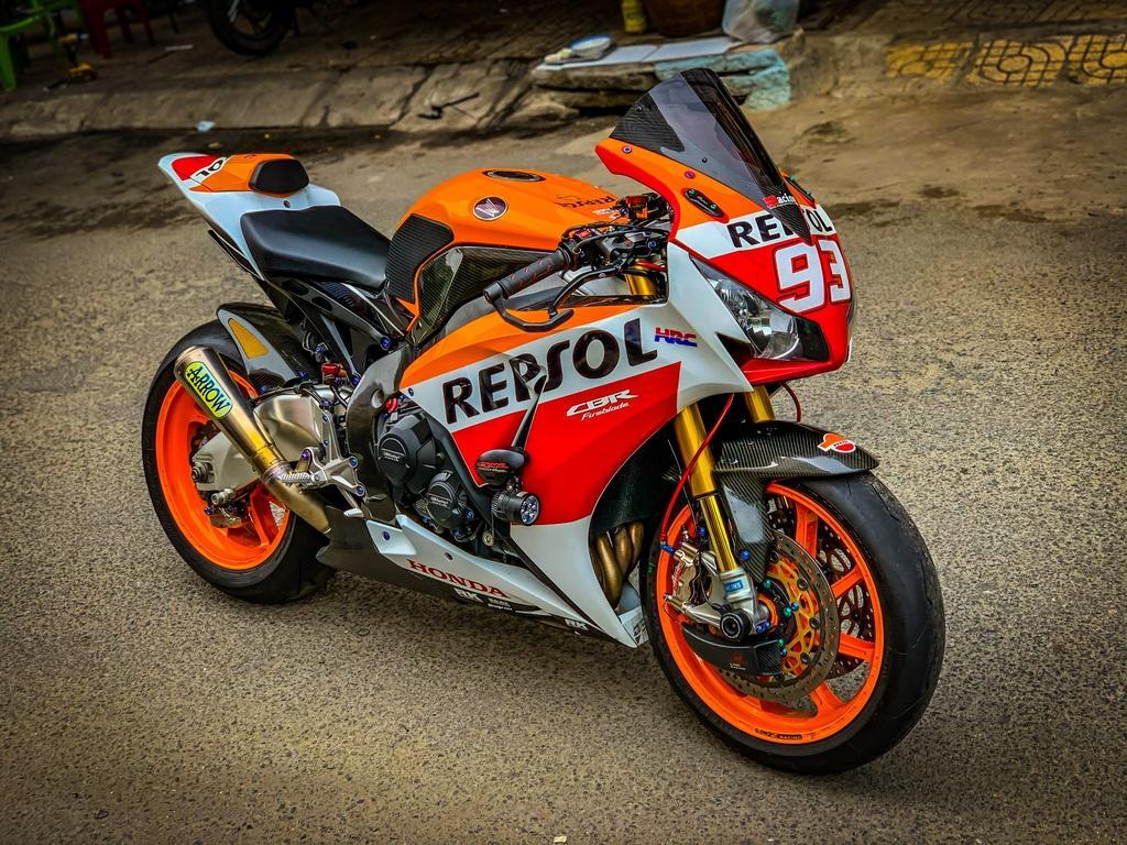 Honda CBR1000RR lột xác với trang bị thửa từ xe đua MotoGP Ảnh 1