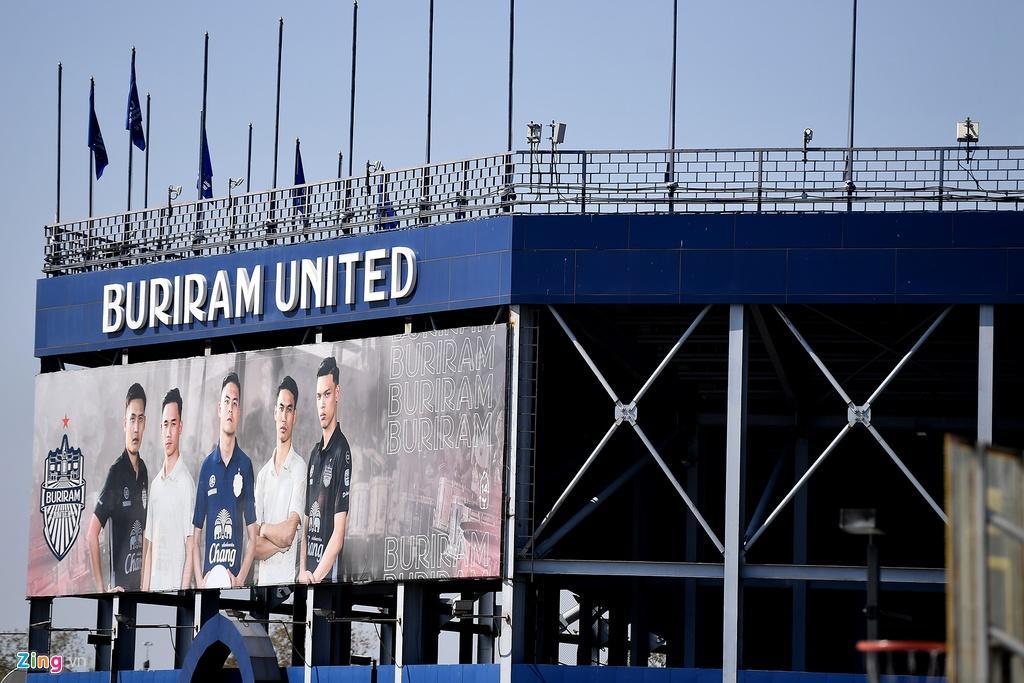 Sân Chang Arena trước ngày U23 Việt Nam đấu UAE Ảnh 5