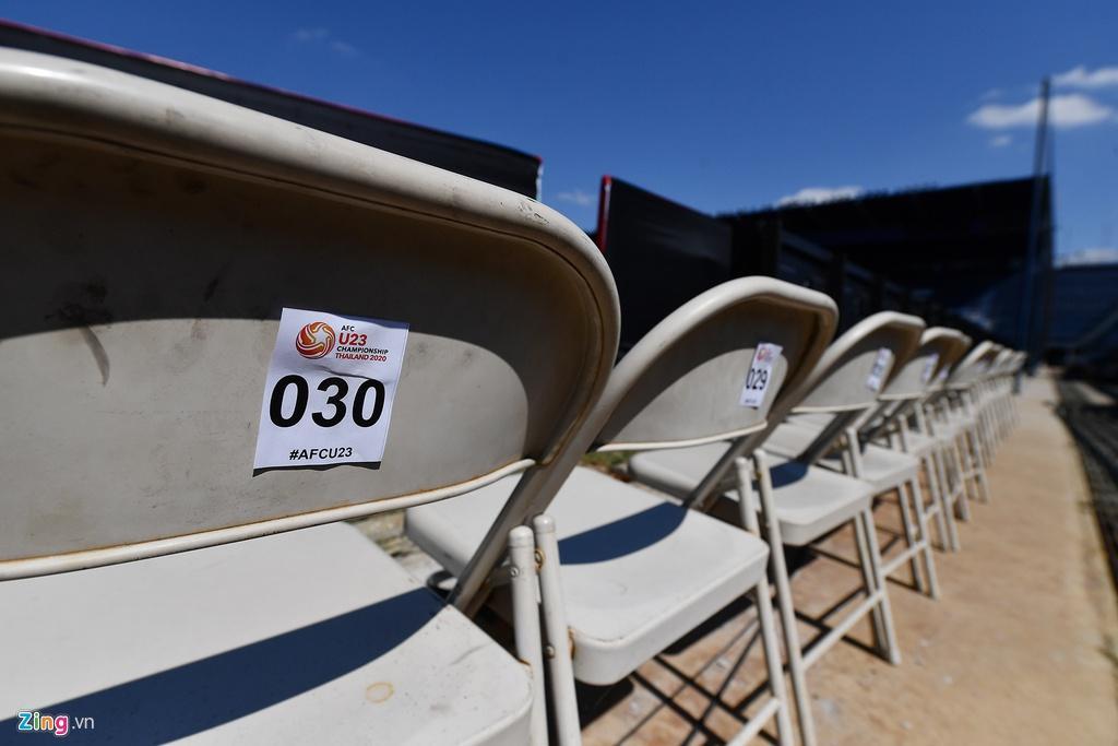 Sân Chang Arena trước ngày U23 Việt Nam đấu UAE Ảnh 16