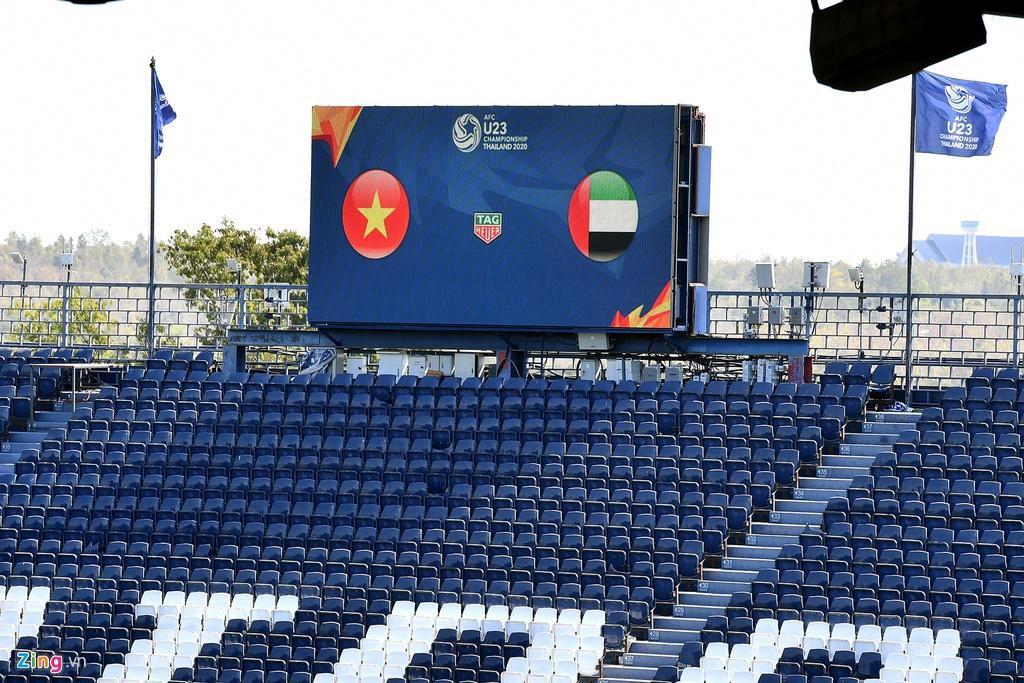 Sân Chang Arena trước ngày U23 Việt Nam đấu UAE Ảnh 11