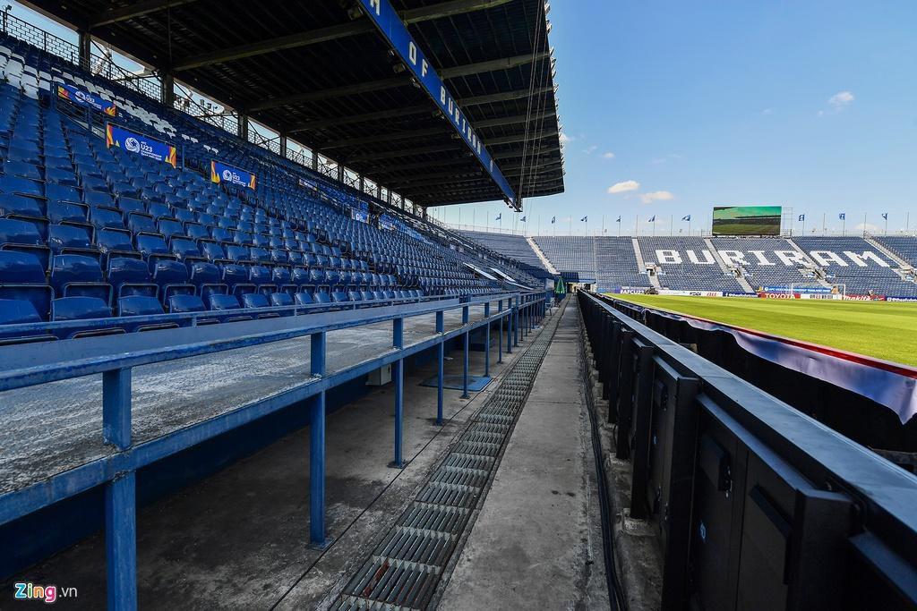 Sân Chang Arena trước ngày U23 Việt Nam đấu UAE Ảnh 9