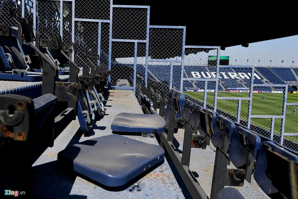 Sân Chang Arena trước ngày U23 Việt Nam đấu UAE Ảnh 15