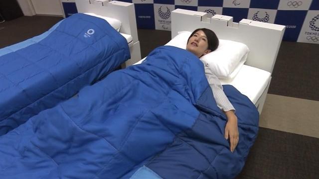 18.000 giường làm từ bìa carton để phục vụ cho Thế vận hội Olympic 2020 Ảnh 1