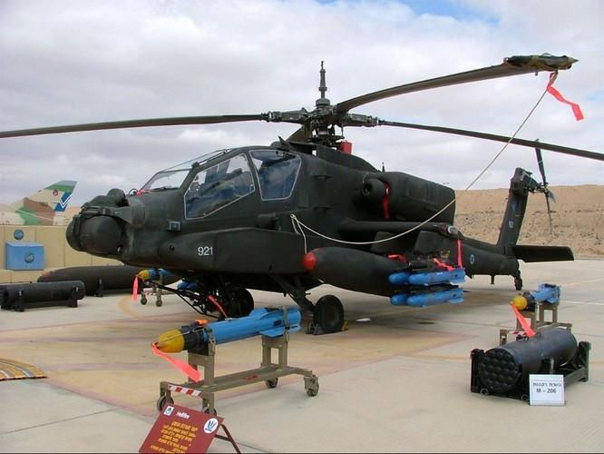 Mỹ trang bị siêu tên lửa lsrael cho trực thăng AH-64 Ảnh 16