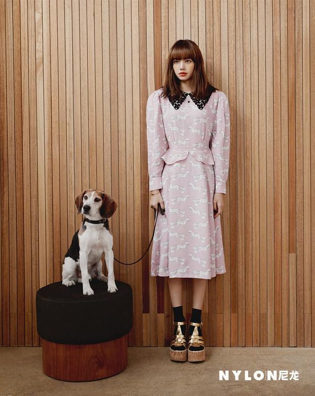 Lisa (Black Pink) phong cách trên tạp chí Ảnh 9