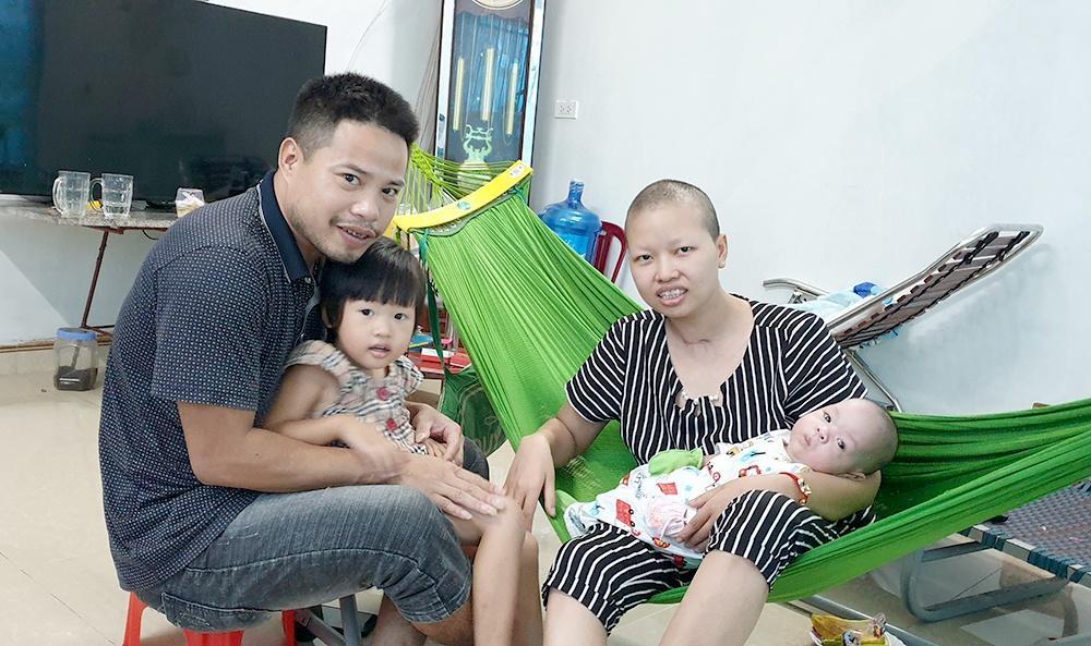 Mẹ ung thư từ chối điều trị để sinh con giờ ra sao? Ảnh 1