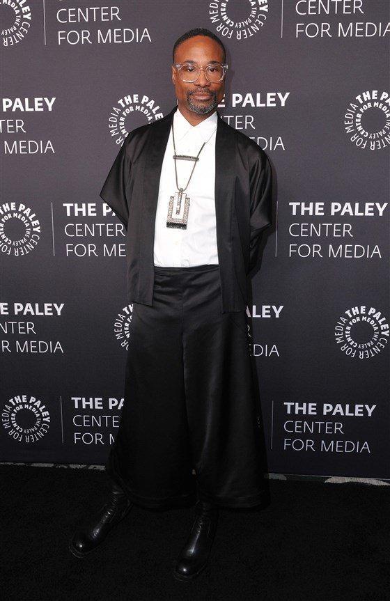 Billy Porter ngày càng lố khiến khán giả ngán ngẩm vì mặc váy khoe thân phản cảm Ảnh 6