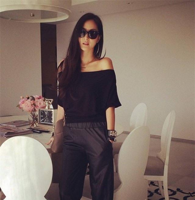 Gu thời trang sang chảnh 'gây sốt' của tiểu thư giàu có nhất nhì Đài Loan Ảnh 10