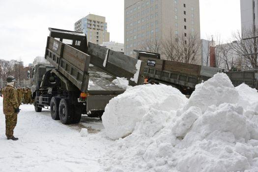 Nhật Bản lao đao vì lượng tuyết rơi thấp nhất lịch sử Ảnh 1