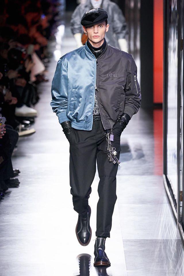 Áo khoác hoa, găng tay dài - Dior nâng thời trang nam lên tầm cao mới Ảnh 17