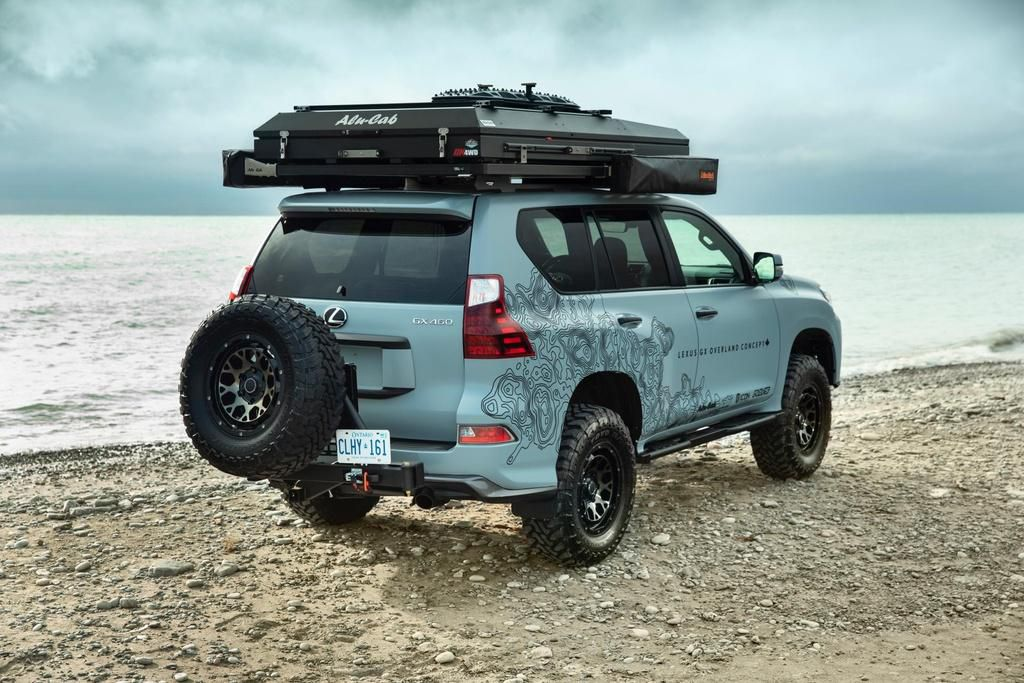 Concept SUV off-road của Lexus - xe hạng sang hầm hố Ảnh 3