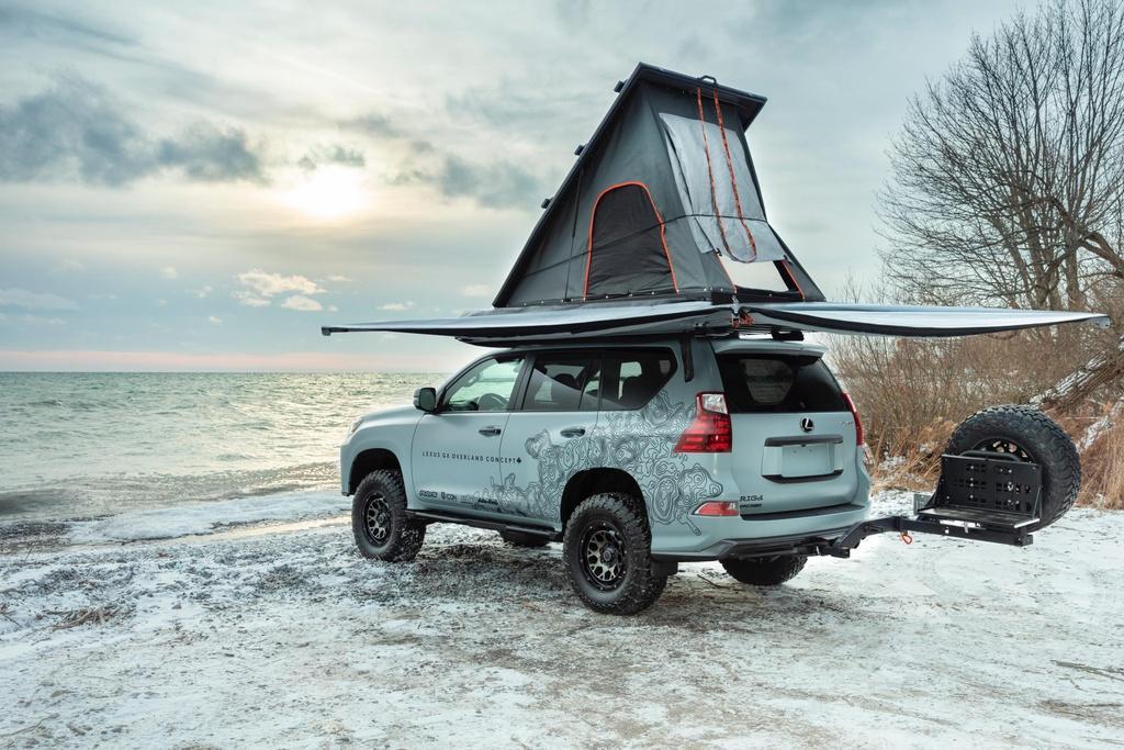 Concept SUV off-road của Lexus - xe hạng sang hầm hố Ảnh 6