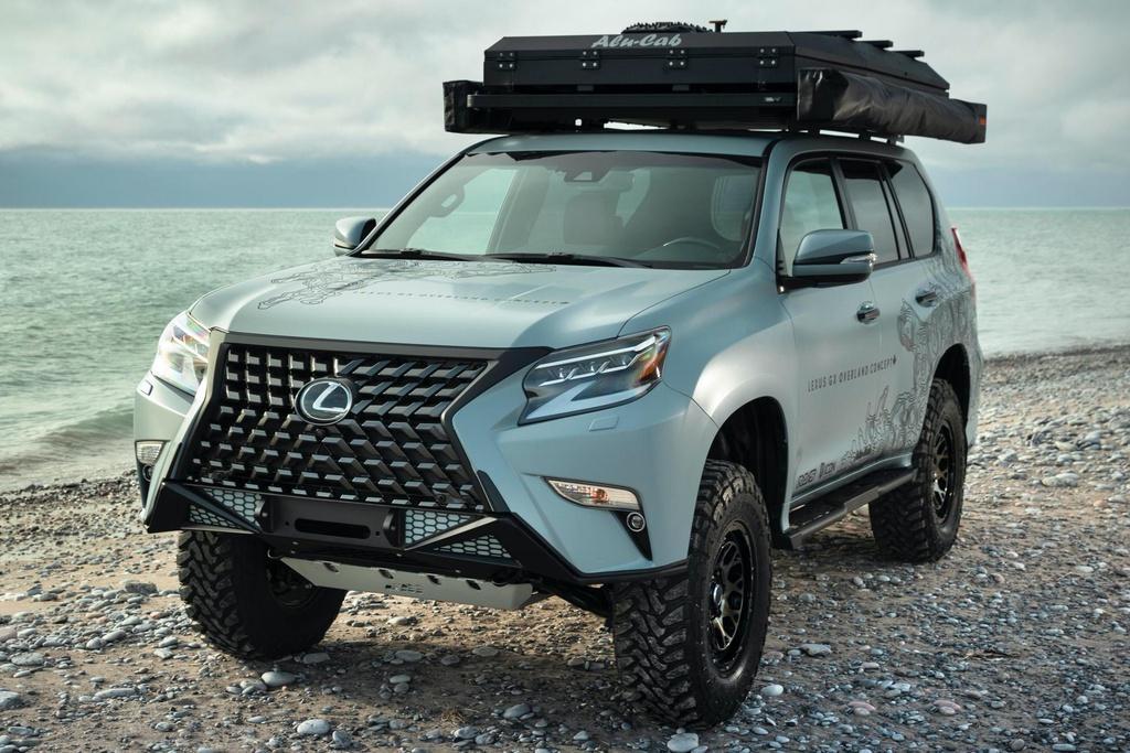 Concept SUV off-road của Lexus - xe hạng sang hầm hố Ảnh 4