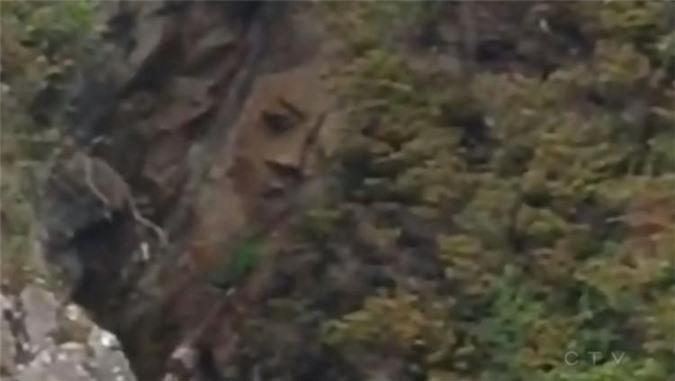 Kỳ quặc những vách đá hình mặt người trên thế giới Ảnh 3