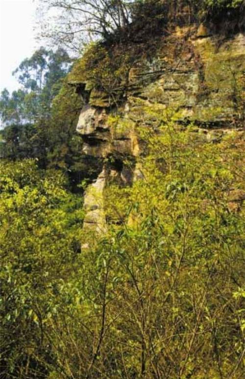 Kỳ quặc những vách đá hình mặt người trên thế giới Ảnh 6