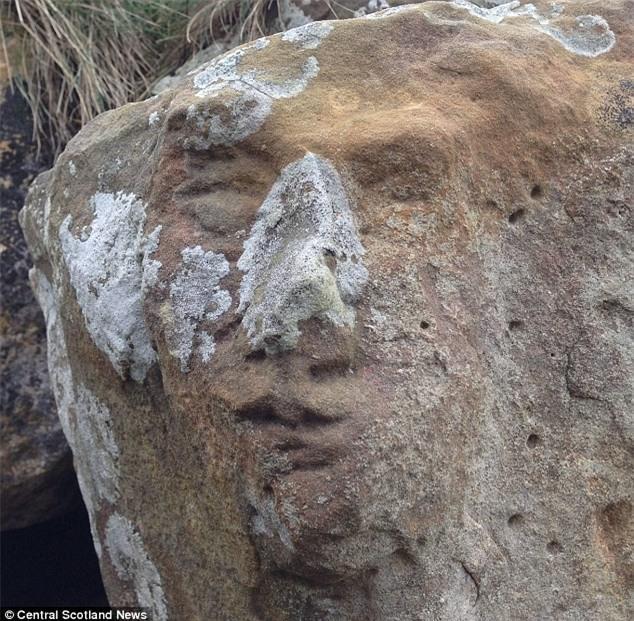 Kỳ quặc những vách đá hình mặt người trên thế giới Ảnh 8