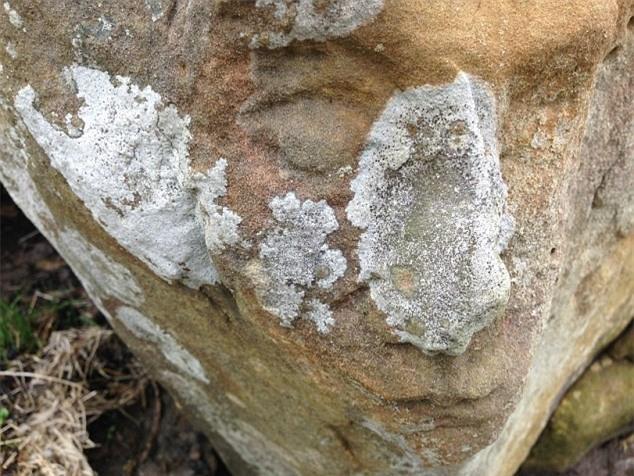Kỳ quặc những vách đá hình mặt người trên thế giới Ảnh 9