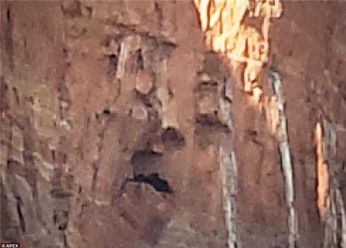 Kỳ quặc những vách đá hình mặt người trên thế giới Ảnh 2