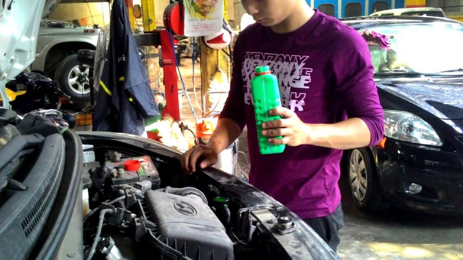 Nước làm mát và những lưu ý để bảo dưỡng xe cuối năm Ảnh 2