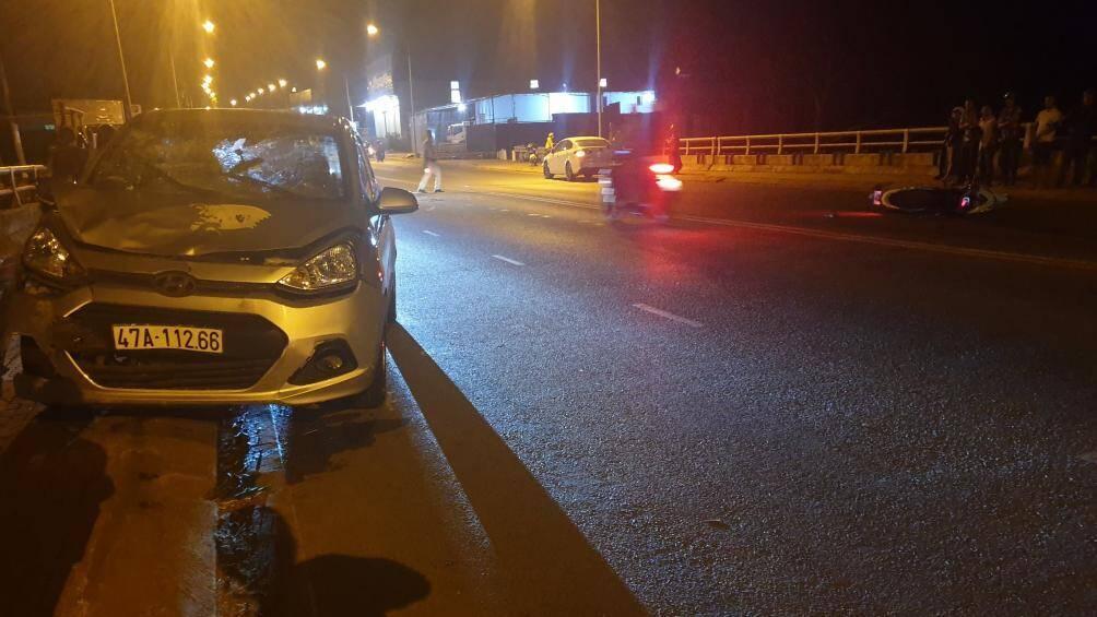 Đắk Lắk: Tài xế ô tô say xỉn gây tai nạn khiến 2 cô gái trẻ nguy kịch Ảnh 1