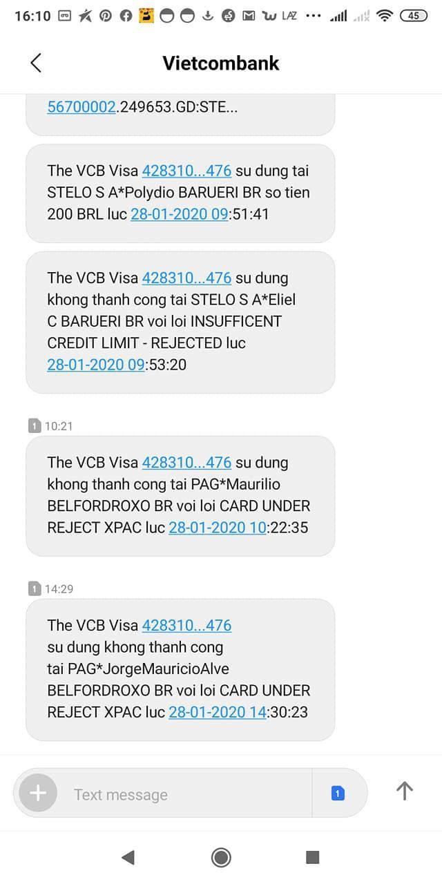 Nhiều khách hàng tố Vietcombank dính lỗi bảo mật hàng loạt Ảnh 2
