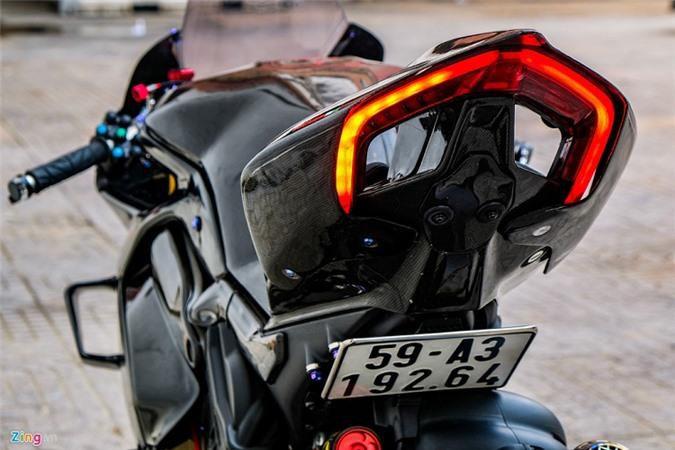 Ducati Panigale V4 với gói độ xe đua tiền tỷ ở Sài Gòn Ảnh 11