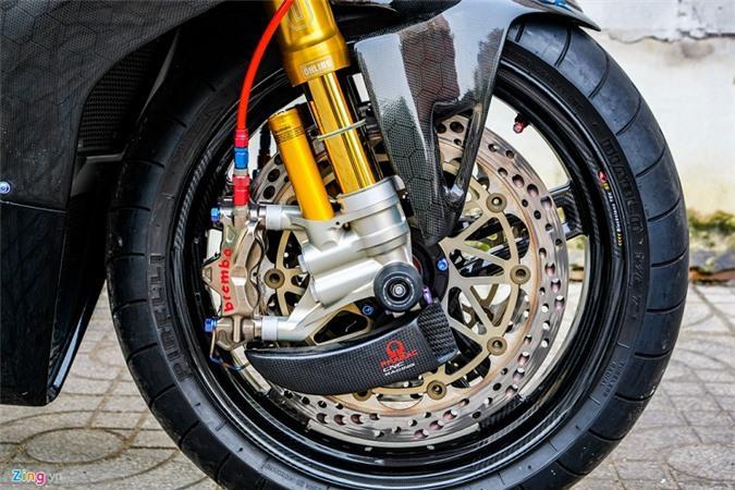 Ducati Panigale V4 với gói độ xe đua tiền tỷ ở Sài Gòn Ảnh 10
