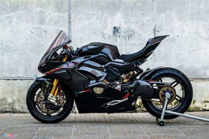 Ducati Panigale V4 với gói độ xe đua tiền tỷ ở Sài Gòn Ảnh 4