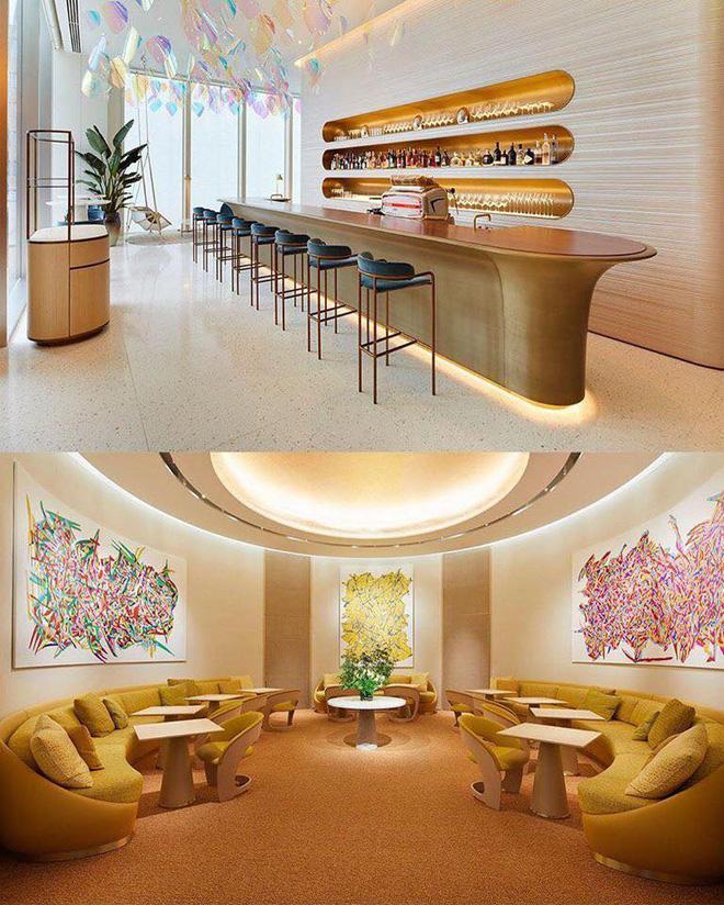 Louis Vuitton mở nhà hàng và tiệm cafe đầu tiên ở Osaka (Nhật Bản) vào trưa nay nhưng lại giới hạn khách vào mỗi tối Ảnh 4