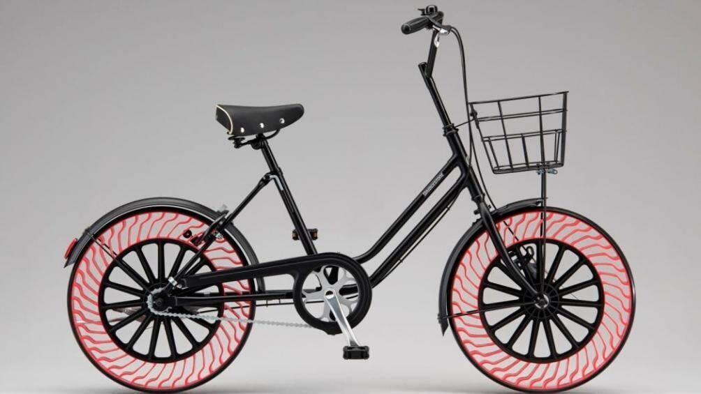 Lốp không hơi đã được sử dụng trên xe đạp, sắp được trang bị cho ô tô Ảnh 1
