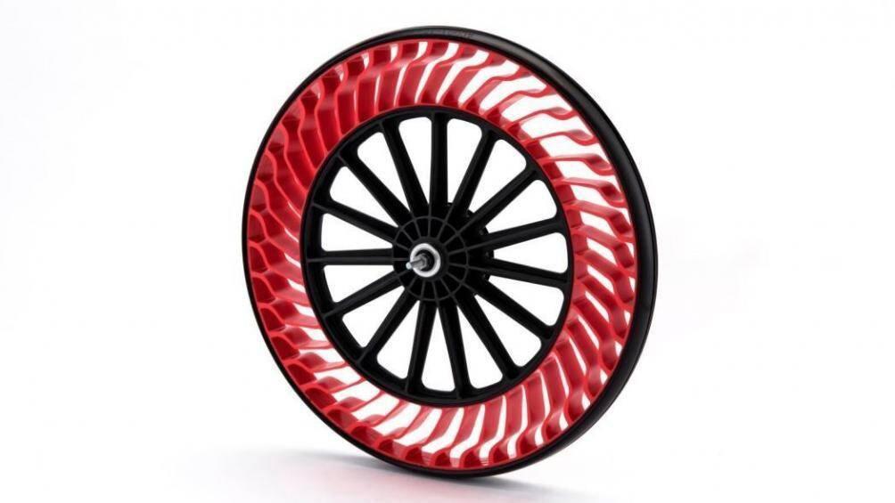 Lốp không hơi đã được sử dụng trên xe đạp, sắp được trang bị cho ô tô Ảnh 2