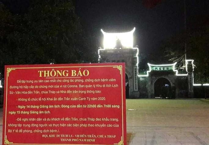 Không tổ chức Khai Ấn, đền Trần vắng vẻ đến ngỡ ngàng Ảnh 2