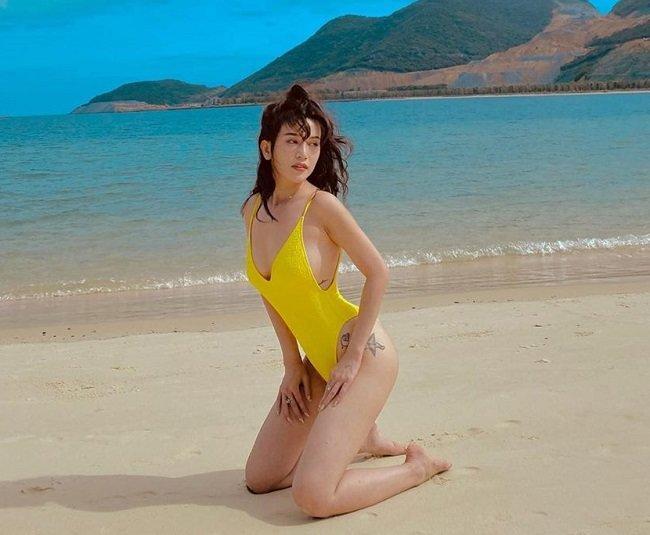 Chi Pu, Phương Trinh Jolie, Bảo Anh châm ngòi cho trào lưu bikini tí hon, ai nhìn cũng tò mò tột độ Ảnh 5
