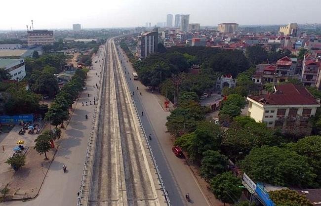 Đường sắt đô thị Nhổn - ga Hà Nội đã hoàn thành chiều dài 8,5km Ảnh 1