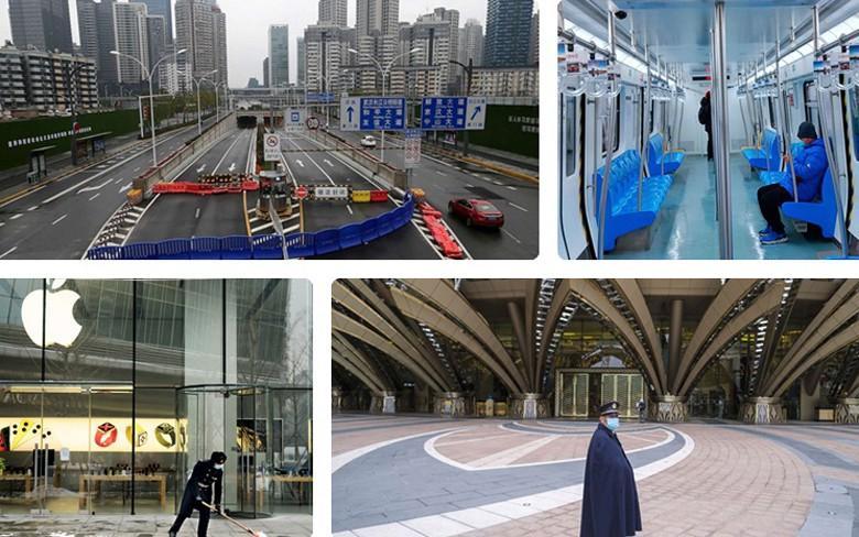 Những đô thị nhộn nhịp của Trung Quốc hóa 'thành phố ma' vì nCoV Ảnh 1
